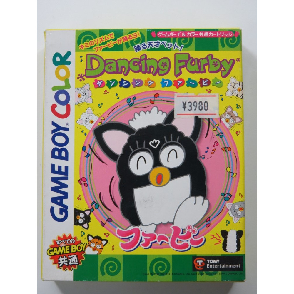 DANCING FURBY NINTENDO GAMEBOY COLOR (GBC) JAPAN (COMPLETE - GREAT CONDITION)