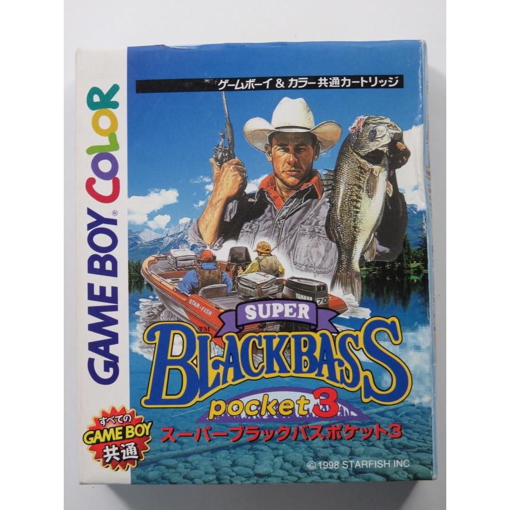 SUPER BLACKBASS POCKET 3 NINTENDO GAMEBOY COLOR (GBC) JAPAN (COMPLETE - GOOD CONDITION)