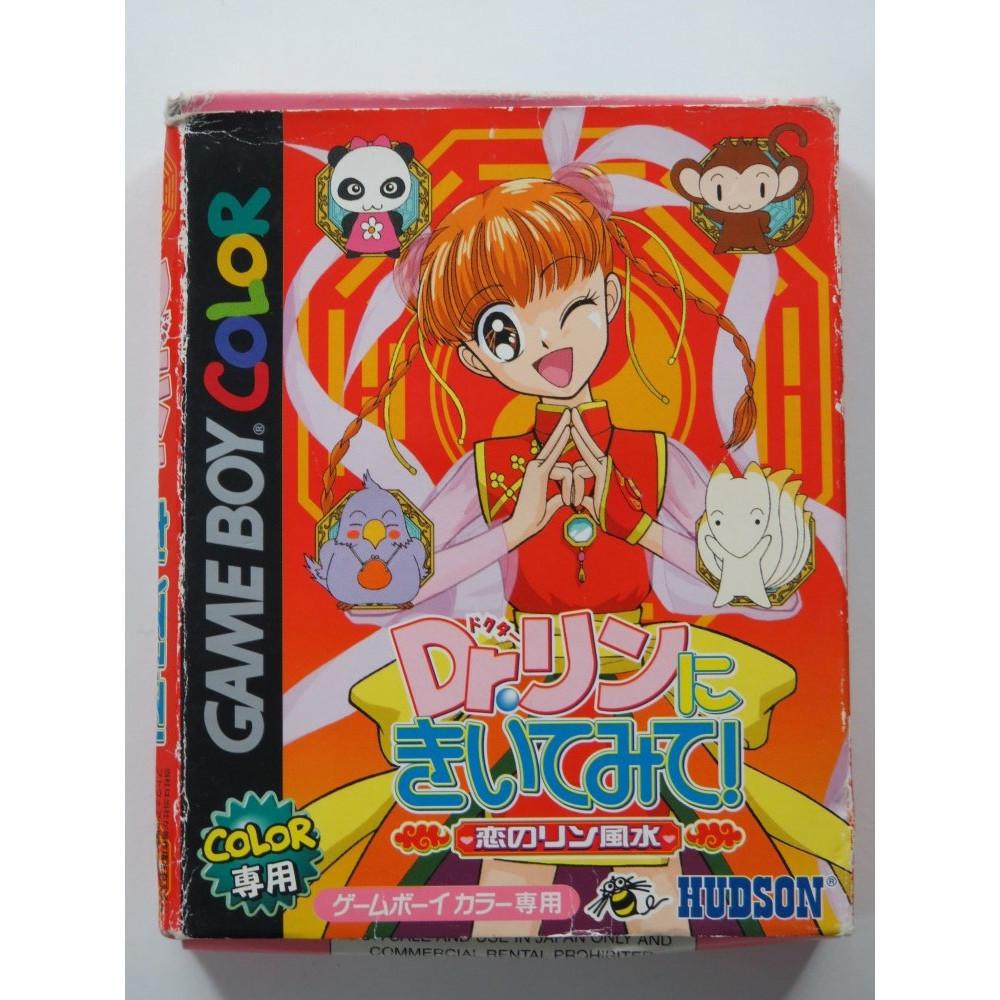 DR. RIN NI KIITEMITE! KOI NO RIN FUUSUI NINTENDO GAMEBOY COLOR (GBC) JAPAN (COMPLETE WITH REG CARD - BOX DAMAGED)