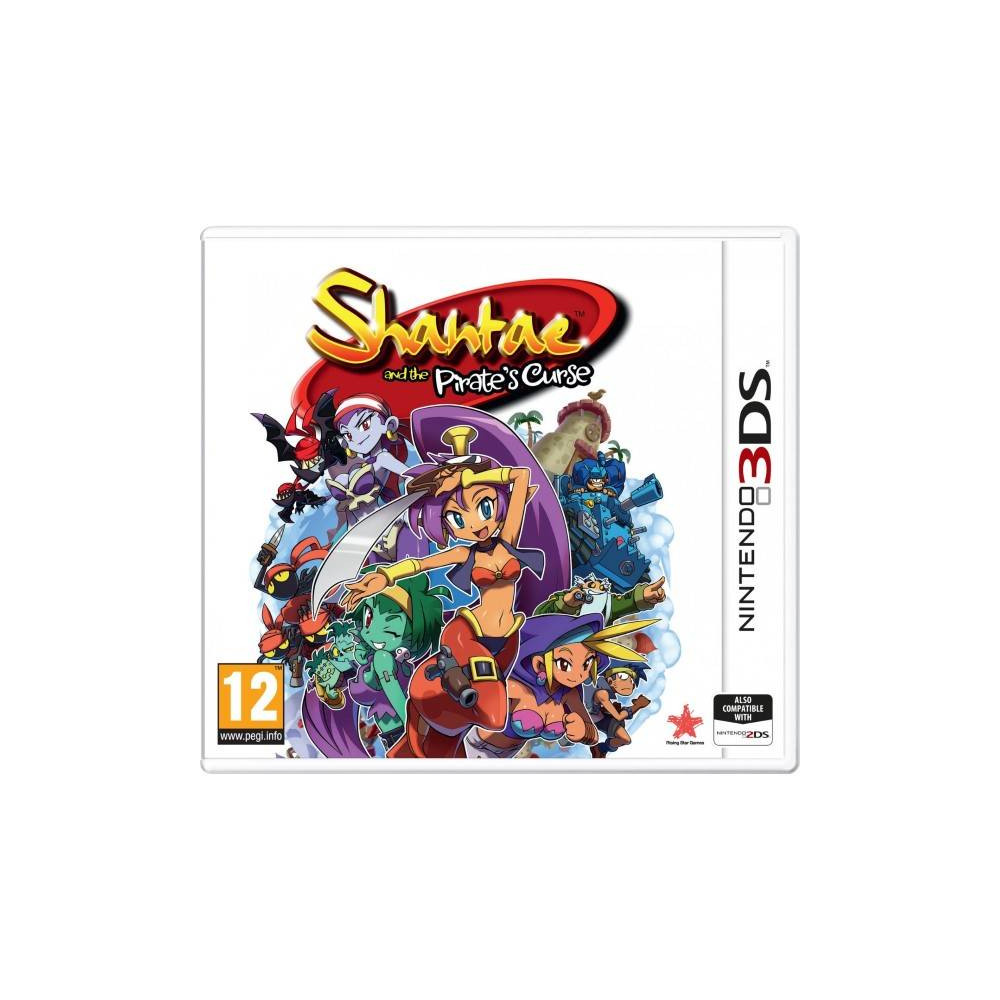 SHANTAE AND THE PIRATE S CURSE 3DS PAL-EURO NEW