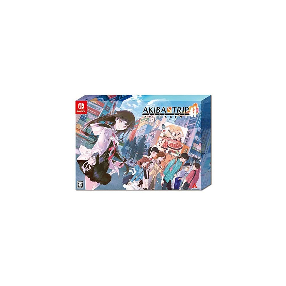 AKIBA S TRIP HELLBOUND & DEBRIEFED 10TH ANNIVERSARY LIMITED EDITION SWITCH JPN OCCASION