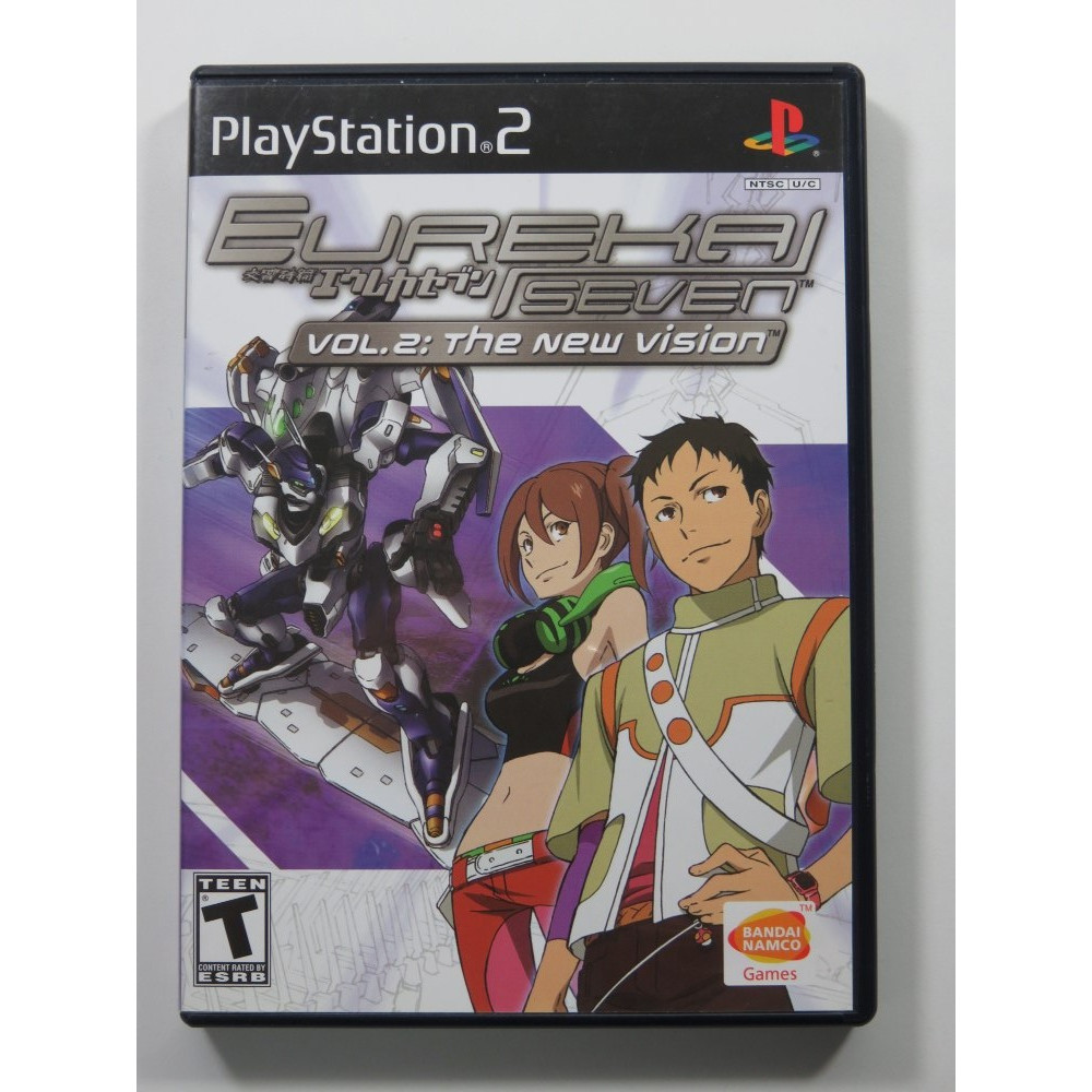 EUREKA SEVEN VOL.2: THE NEW VISION PS2 US OCCASION