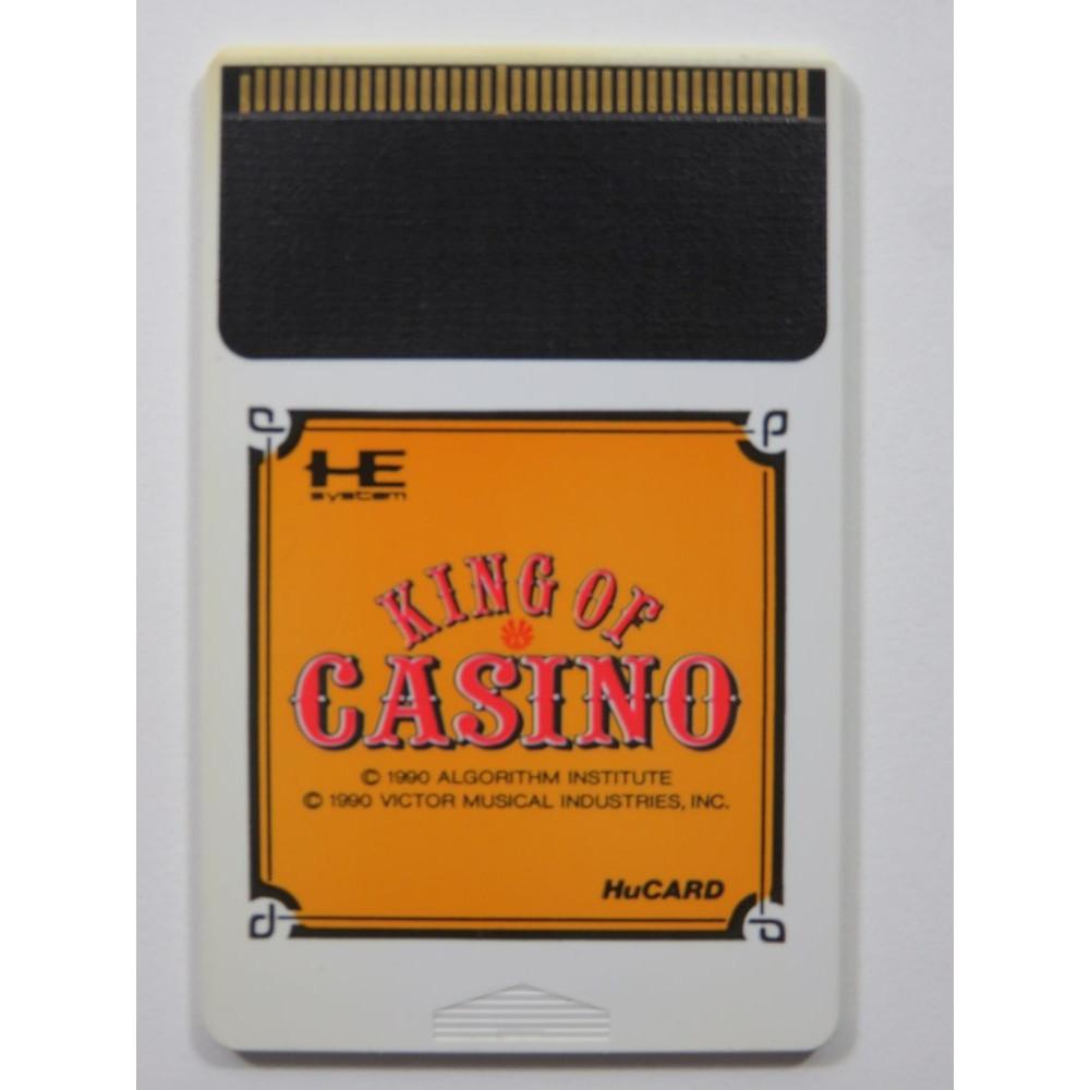 KING OF CASINO NEC PCE HUCARD NTSC-JPN ( CARTRIDGE ONLY)