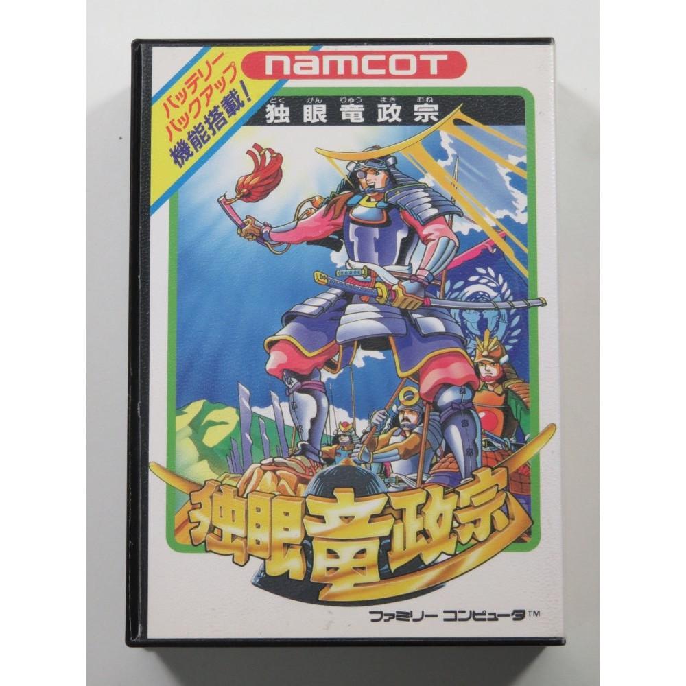 DOKUGANRYU MASAMUNE NINTENDO FAMICOM NTSC-JPN (COMPLETE WITH WORLD MAP - GREAT CONDITION)