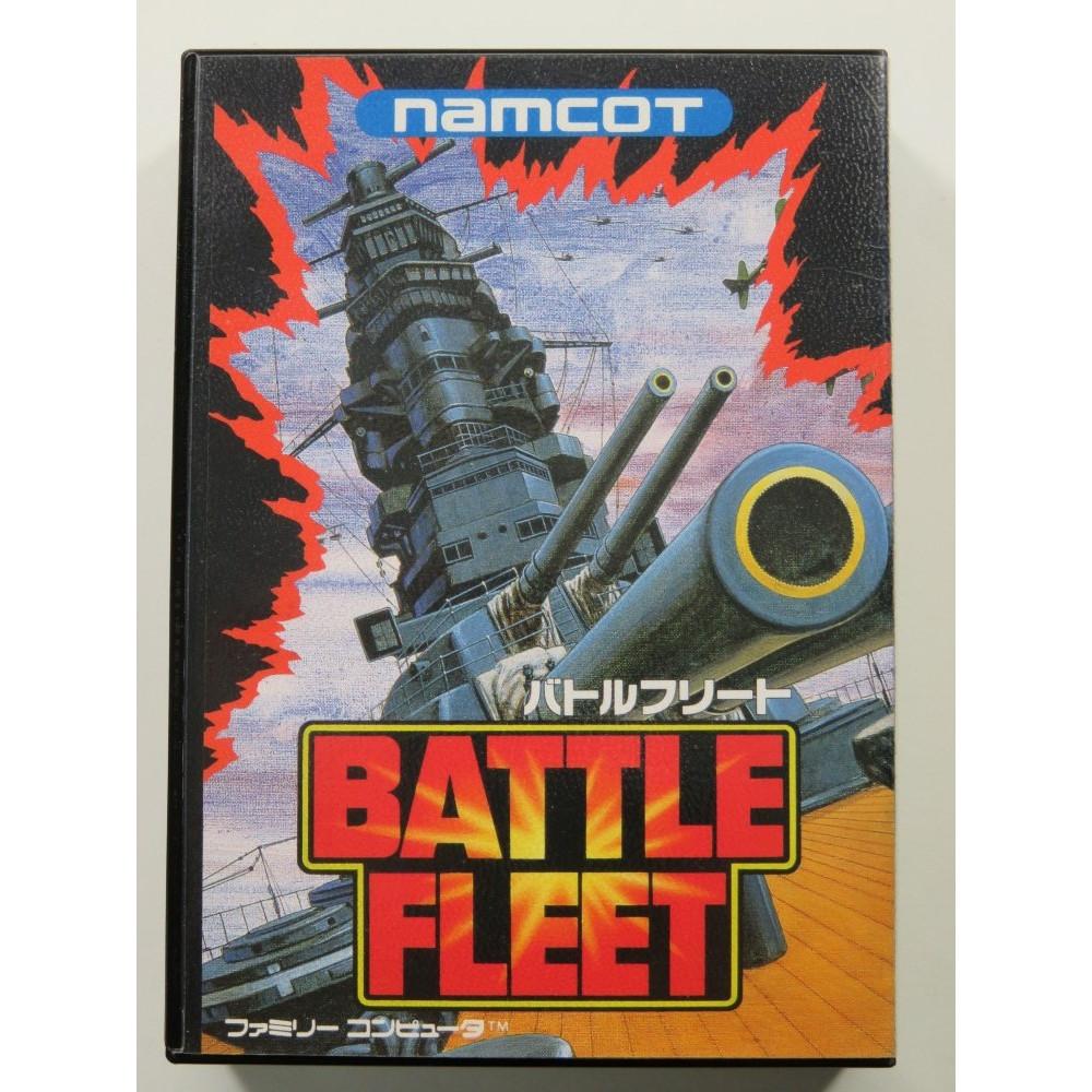 BATTLE FLEET NINTENDO FAMICOM (FC) NTSC-JPN (SANS NOTICE-WITHOUT MANUAL)-(WITH REG CARD AND STICKER - GOOD CONDITION)