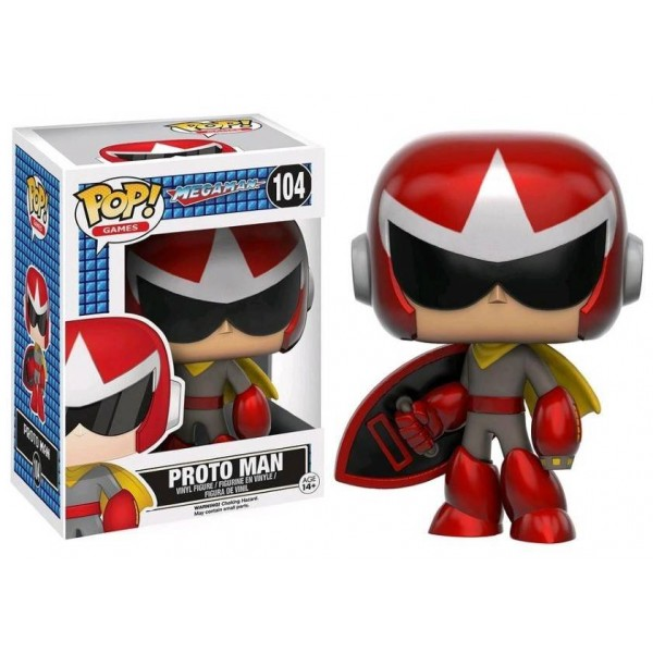 FIGURINE POP MEGAMAN PROTO MAN NEW