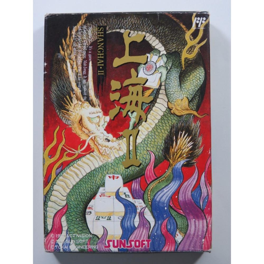 SHANGHAI II NINTENDO FAMICOM NTSC-JPN (COMPLETE - GOOD CONDITION)