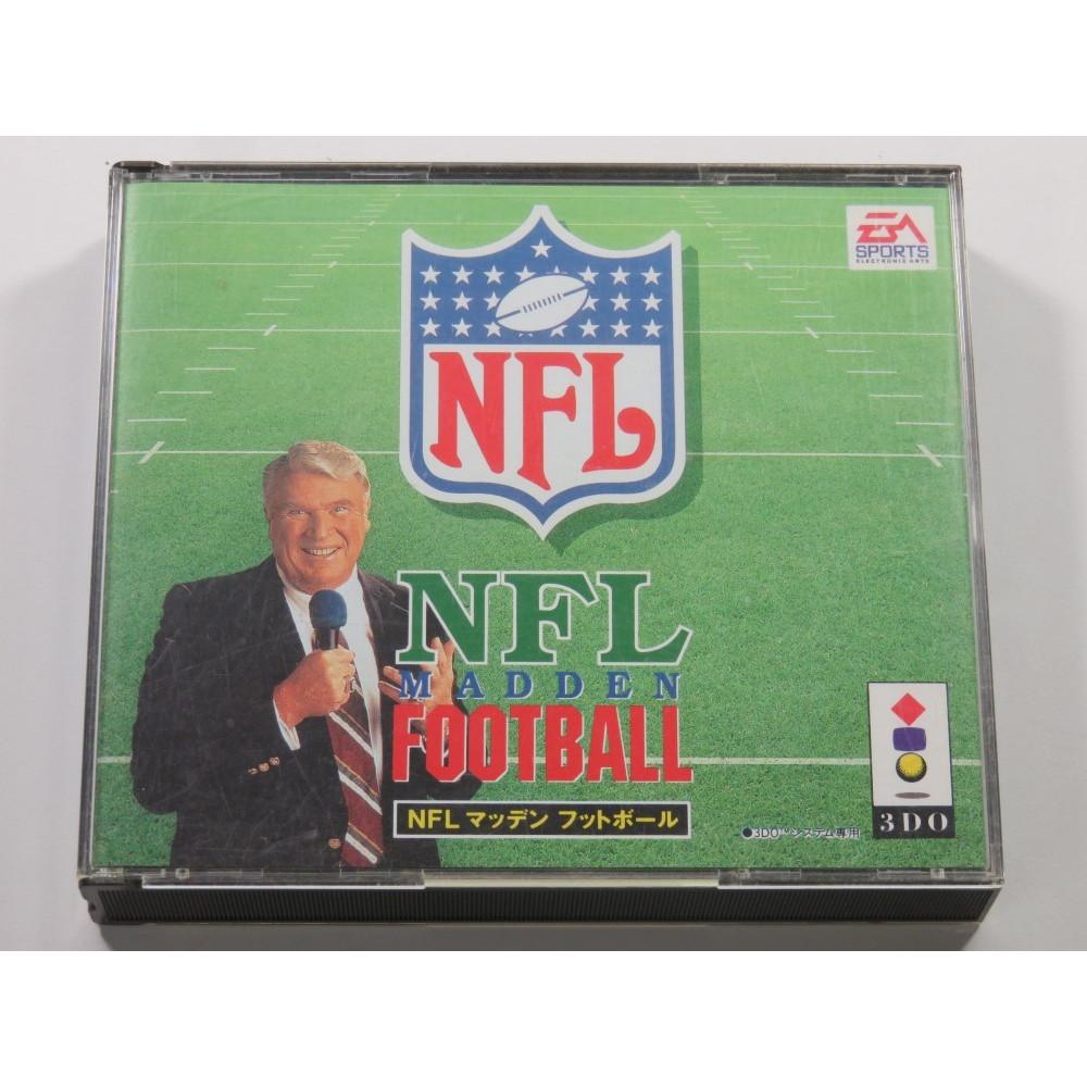 NFL MADDEN FOOTBALL 3DO NTSC-JPN (COMPLETE - GOOD CONDITION)