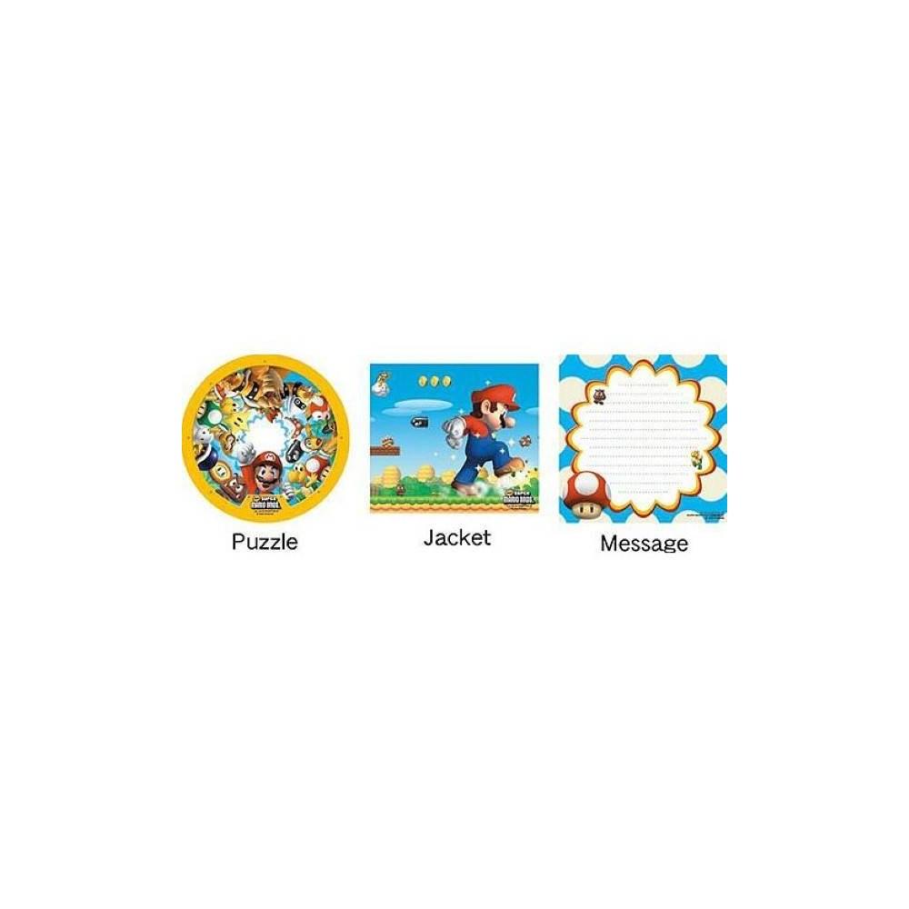 PUZZLE CD NEW SUPER MARIO BROS PERSONNAGES