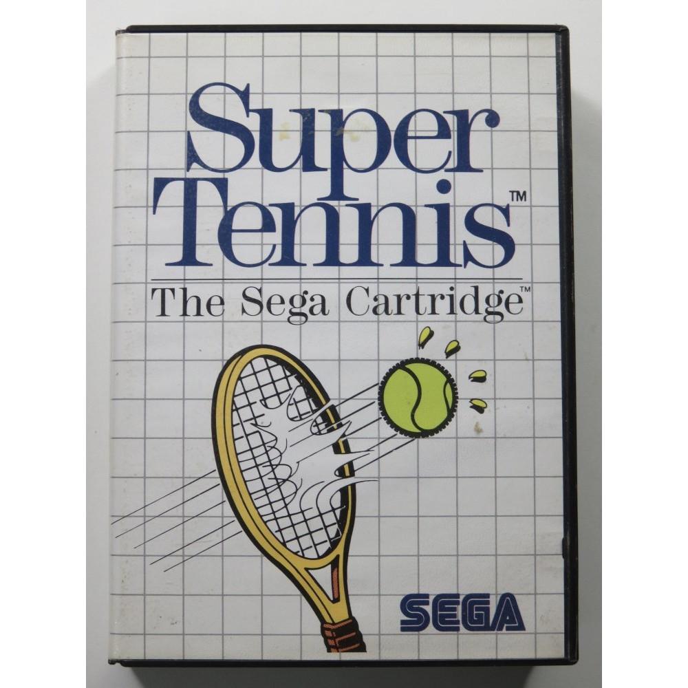 SUPER TENNIS SEGA MASTER SYSTEM PAL-EURO (SANS NOTICE-WITHOUT MANUAL)