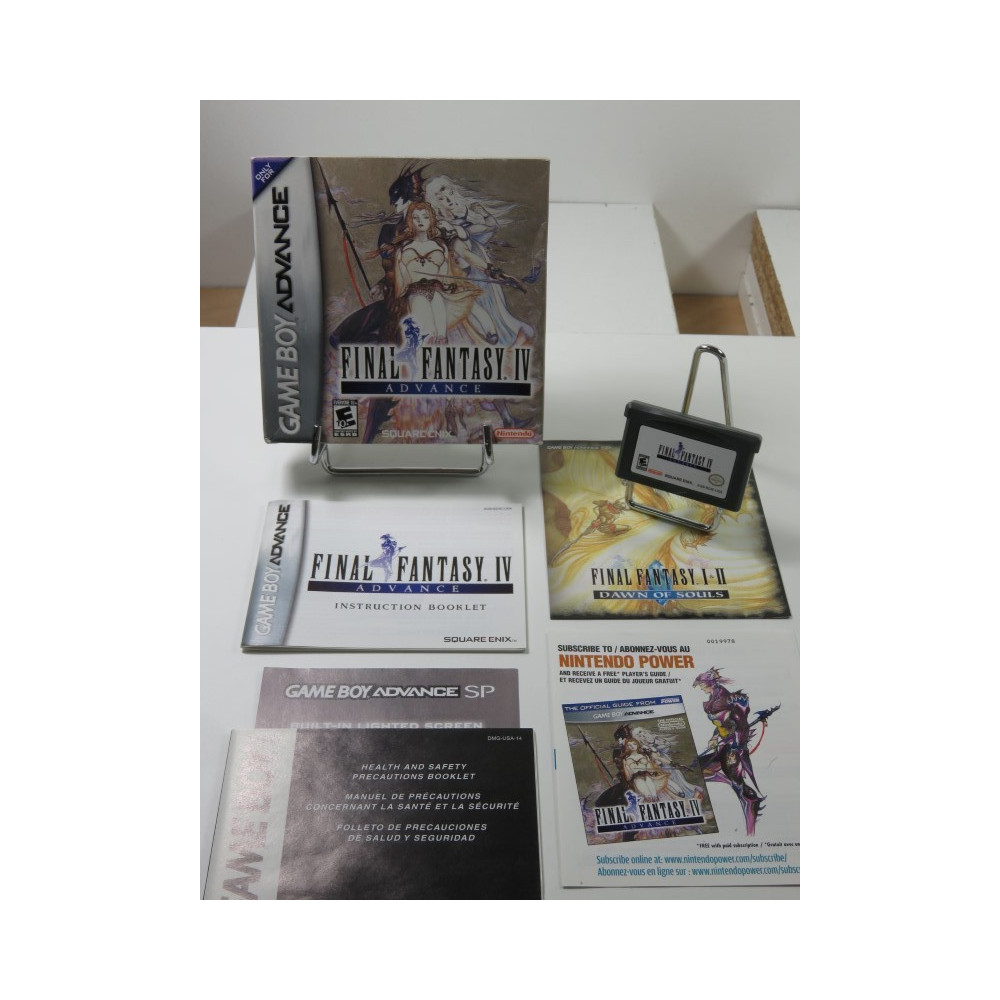 FINAL FANTASY IV GAMEBOY ADVANCE (GBA) USA (COMPLET - GOOD CONDITION)