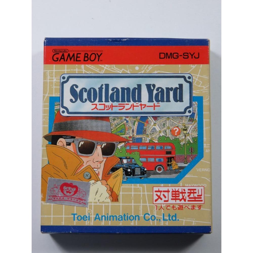 SCOTLAND YARD NINTENDO GAMEBOY (GB) JAPAN (COMPLETE - GOOD CONDITION)