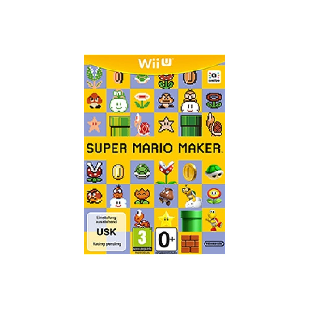 SUPER MARIO MAKER WII U MULTI OCC