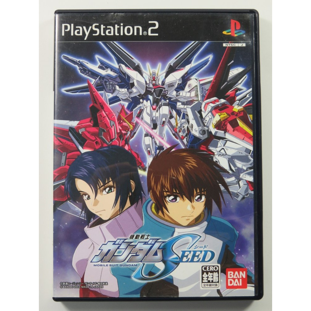 MOBILE SUIT GUNDAM SEED PLAYSTATION 2 (PS2) NTSC-JPN OCCASION
