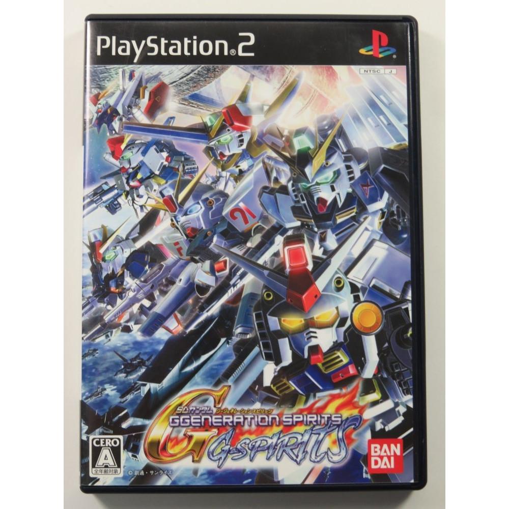 SD GUNDAM G GENERATION SPIRITS PLAYSTATION 2 (PS2) NTSC-JPN OCCASION