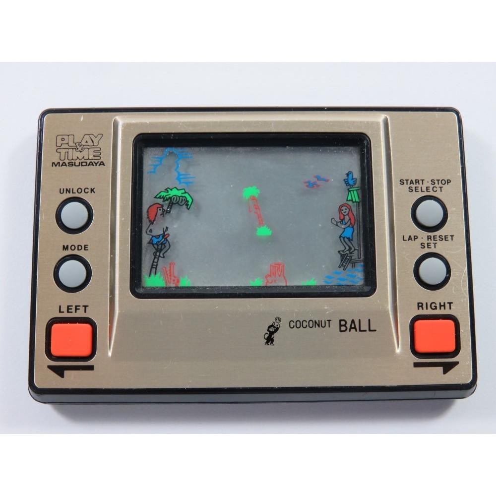 LCD GAME COCONUT BALL PLAY & TIME MASUDAYA (GAME ONLY)