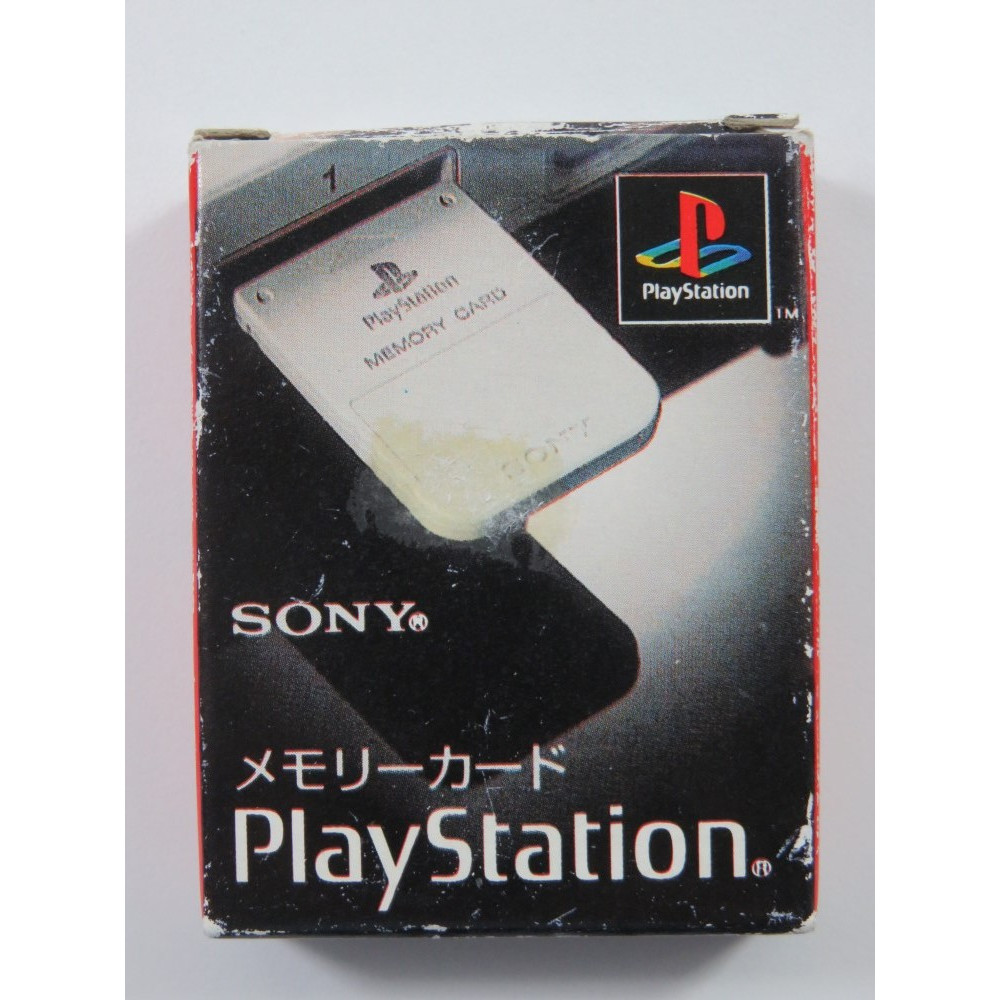 MEMORY CARD SCPH-1020 PLAYSTATION (PS1) JAPAN (COMPLETE - GREAT CONDITION)