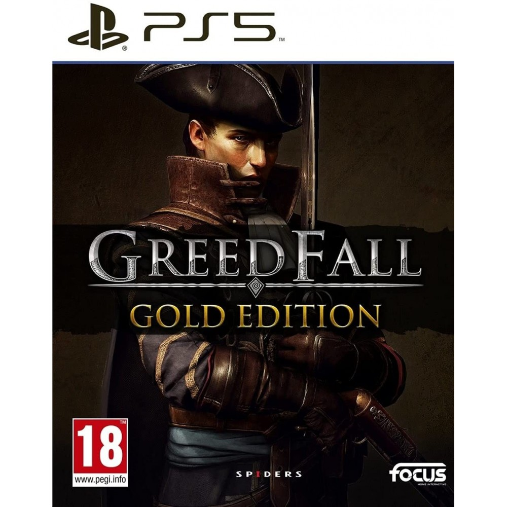 GREEDFALL GOLD EDITION PS5 EURO NEW
