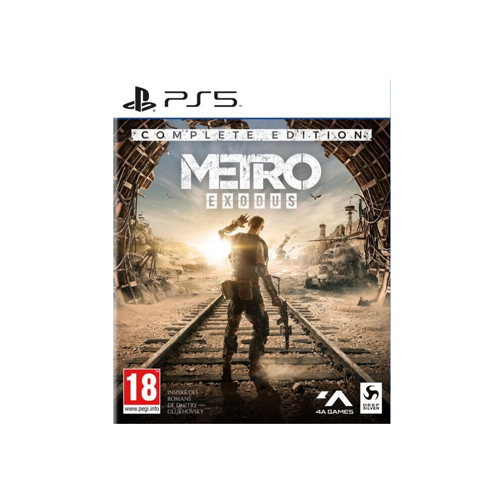 METRO EXODUS COMPLETE EDITION PS5 FR OCCASION