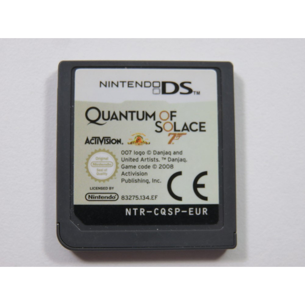 007 QUANTUM OF SOLACE NINTENDO DS (NDS) EUR (CARTRIDGE ONLY)