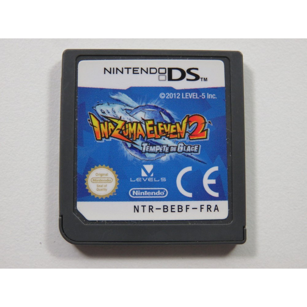 INAZUMA ELEVEN 2 TEMPETE DE GLACE NINTENDO DS (NDS) FRA (CARTRIDGE ONLY)