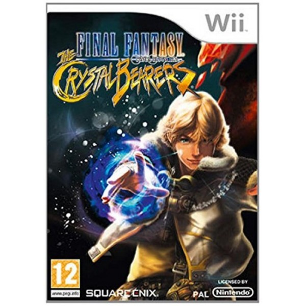FINAL FANTASY CRYSTAL CHRONICLES THE CRYSTAL BEARERS WII UK OCC