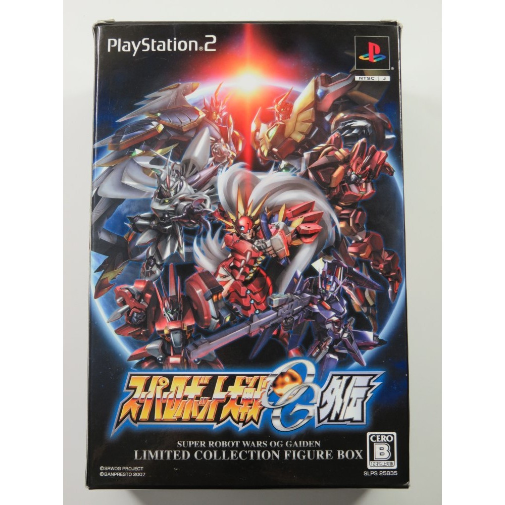 SUPER ROBOT TAISEN OG GAIDEN LIMITED COLLECTION FIGURE BOX PLAYSTATION 2 (PS2) NTSC-JPN OCCASION