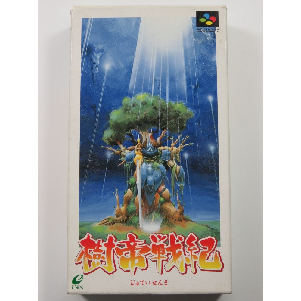 JUTEI SENKI SUPER FAMICOM (SFC) NTSC-JPN (COMPLETE - GOOD CONDITION)