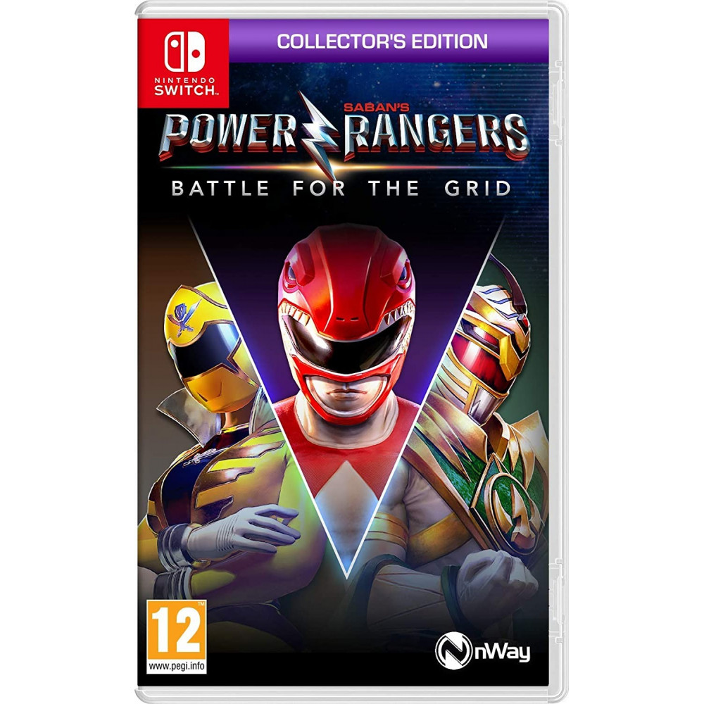 POWER RANGER BATTLE FOR THE GRID SWITCH FR OCCASION