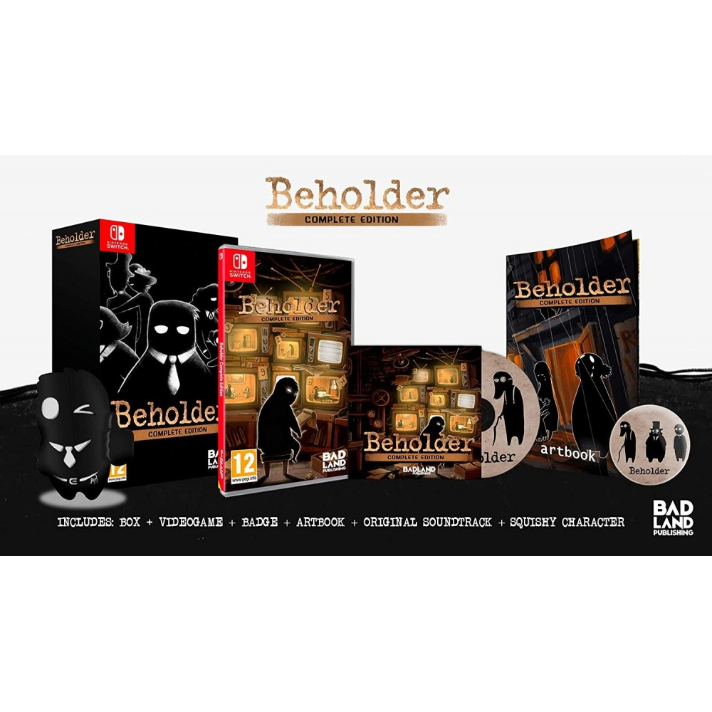 BEHOLDER COMPLETE EDITION COLLECTOR SWITCH UK NEW
