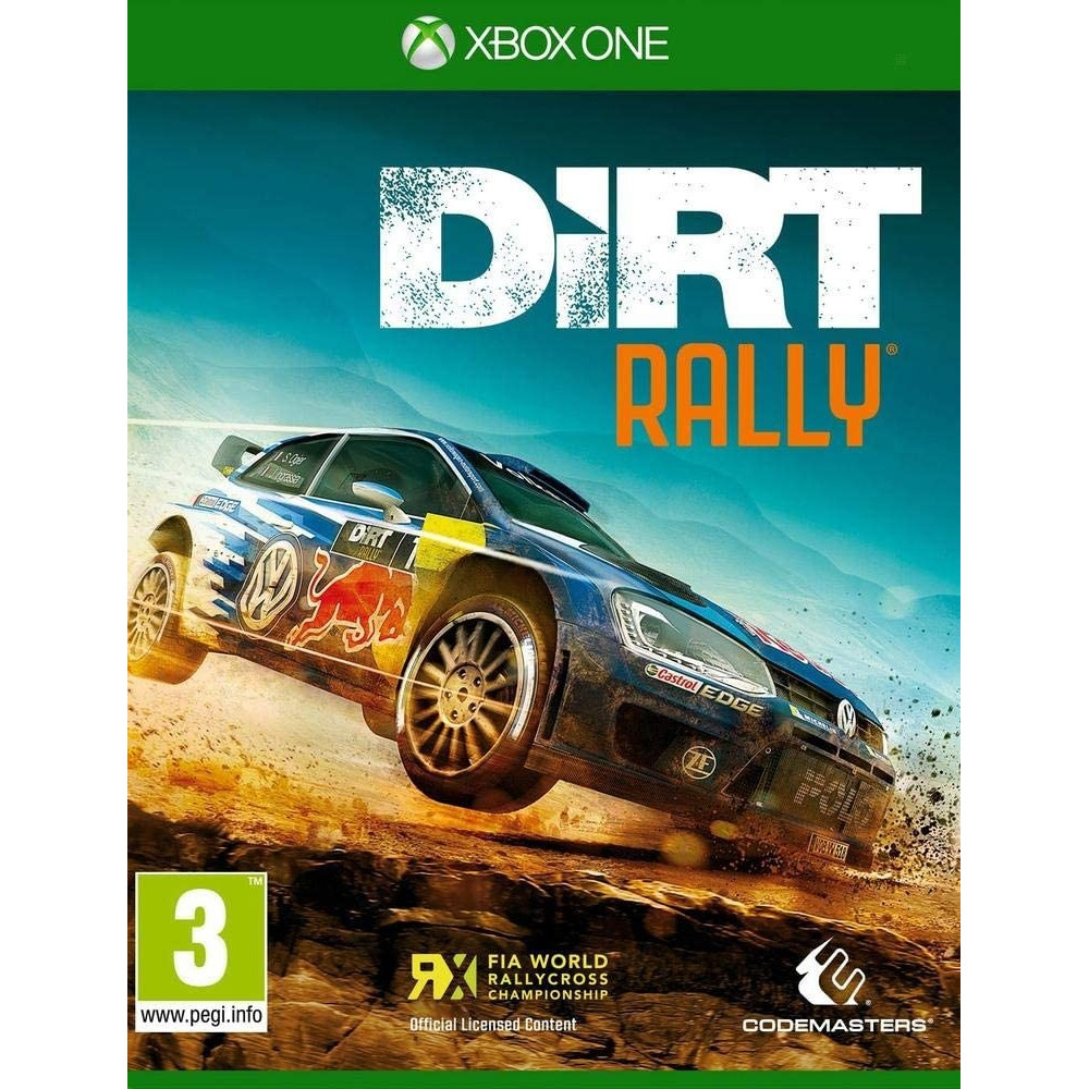DIRT RALLY XBOX ONE FR NEW