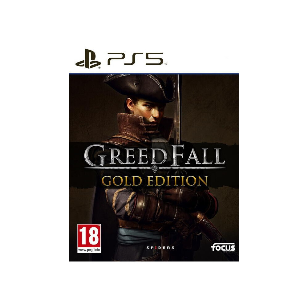 GREEDFALL GOLD EDITION PS5 FR OCCASION