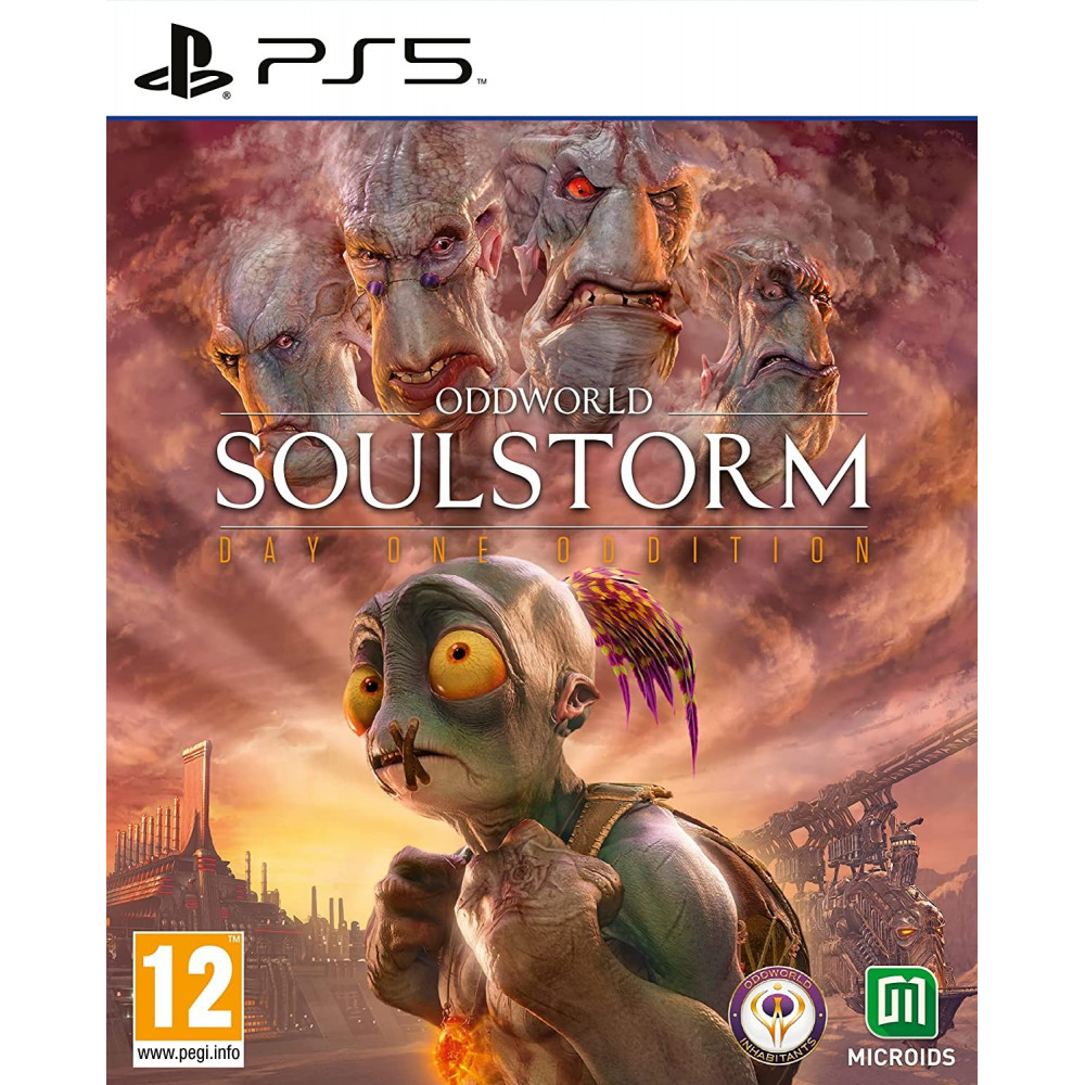 ODDWORLD SOULSTORM DAY ONE EDITION (STEELBOOK) PS5 FR OCCASION