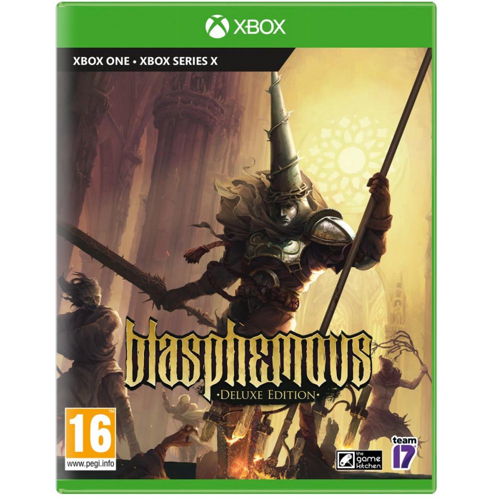BLASPHEMOUS DELUXE EDITION XBOX ONE - SERIES X FR NEW