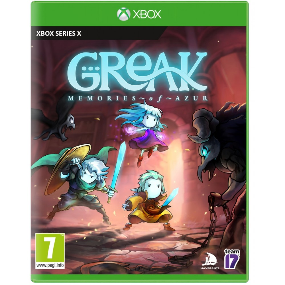 Greak Memories of Azur XBOX SERIE X EURO - Preorder