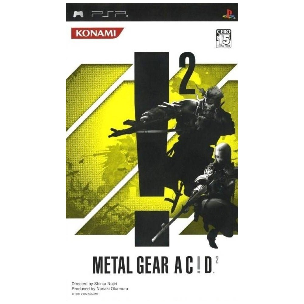 METAL GEAR SOLID AC!D 2 PSP ASIA OCCASION