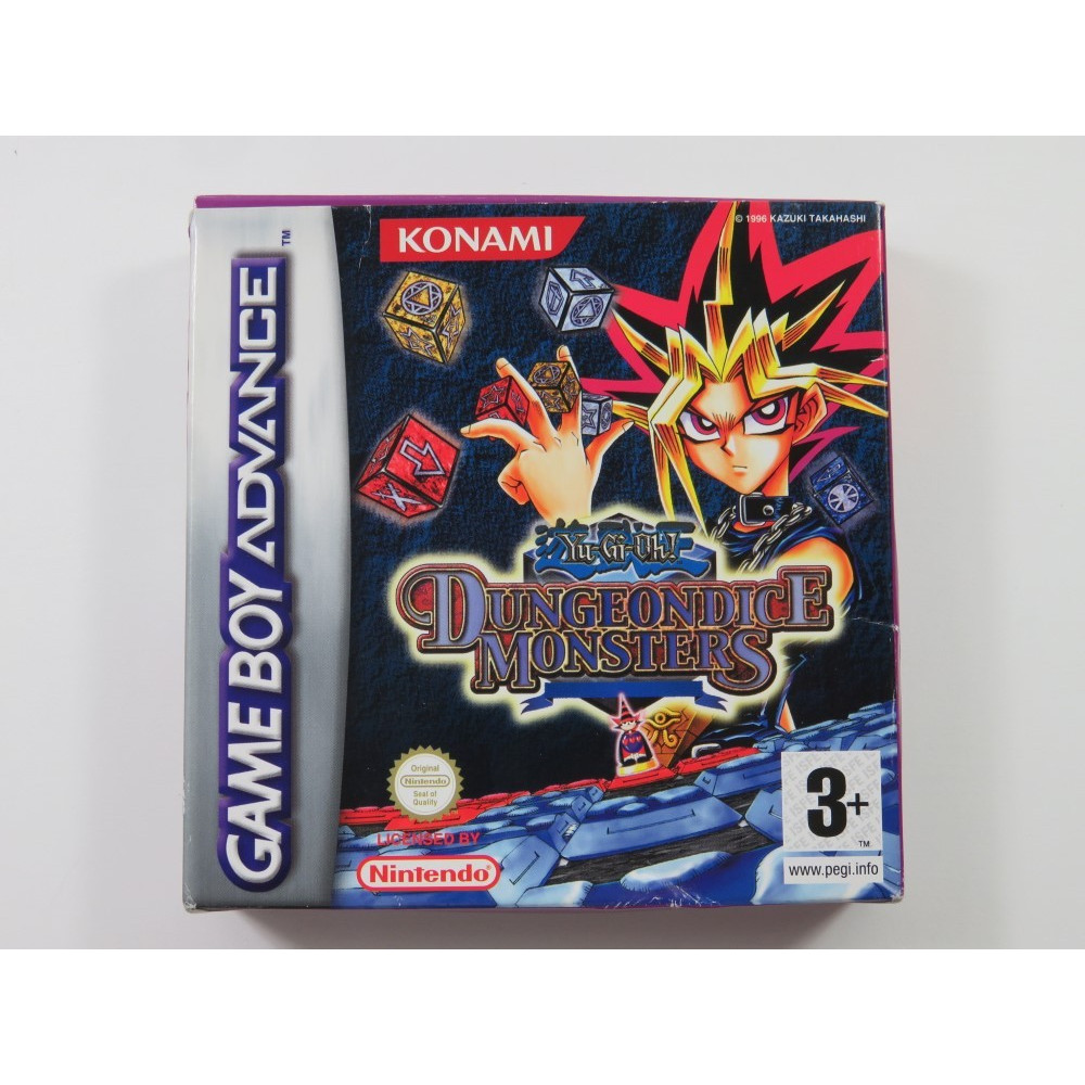 YU-GI-OH DUNGEONDICE MONSTERS GAMEBOY ADVANCE (GBA) FAH (SANS NOTICE - WITHOUT MANUAL)