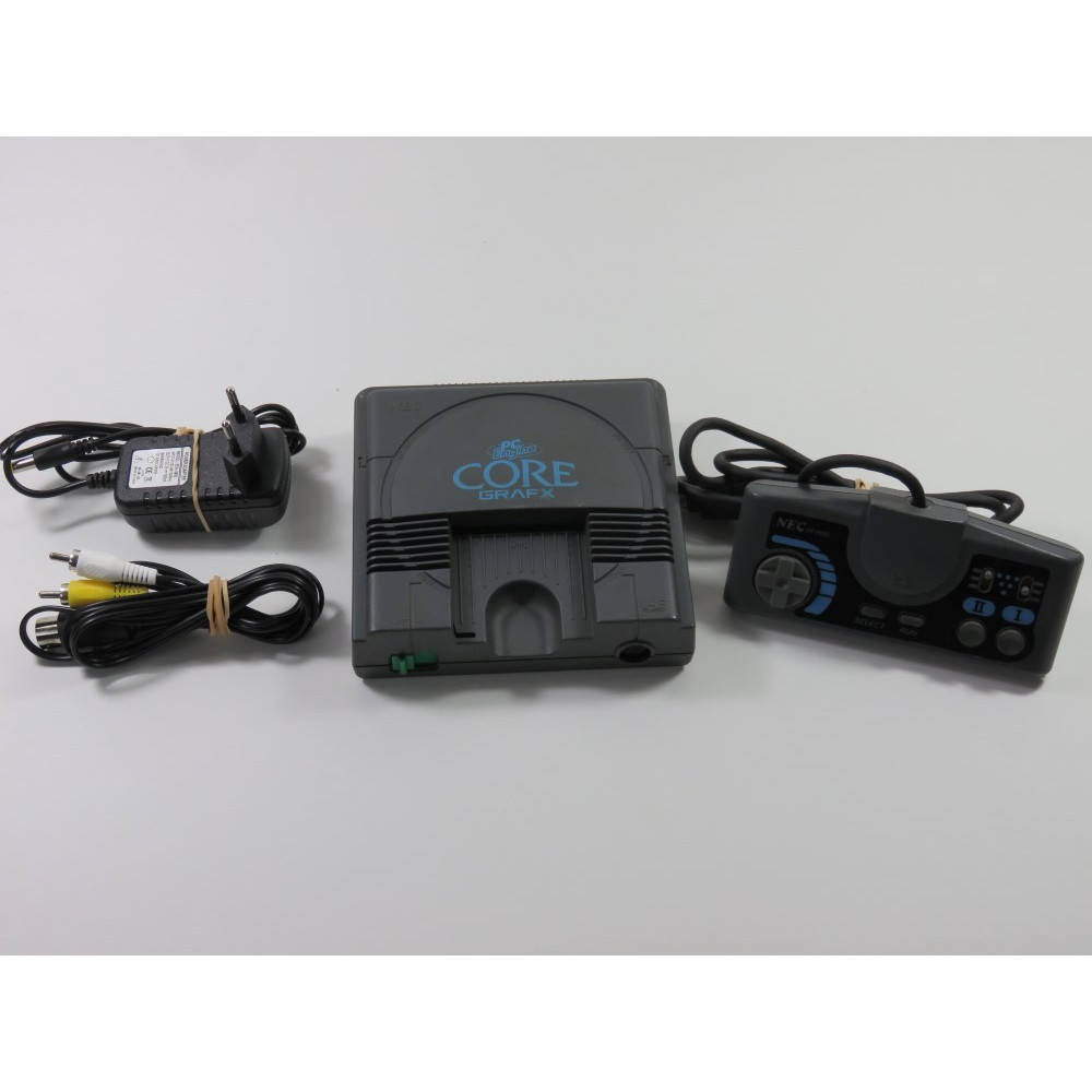 CONSOLE NEC PC ENGINE COREGRAFX (SANS BOITE NI NOTICE - WITHOUT BOX AND MANUAL) - (SERIAL : 9Z100346A)