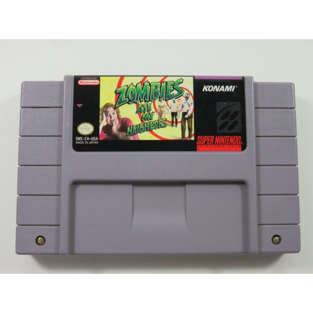 ZOMBIES ATE MY NEIGHBORS SUPER NINTENDO (SNES) NTSC-USA (CARTRIDGE ONLY - GOOD CONDITION)