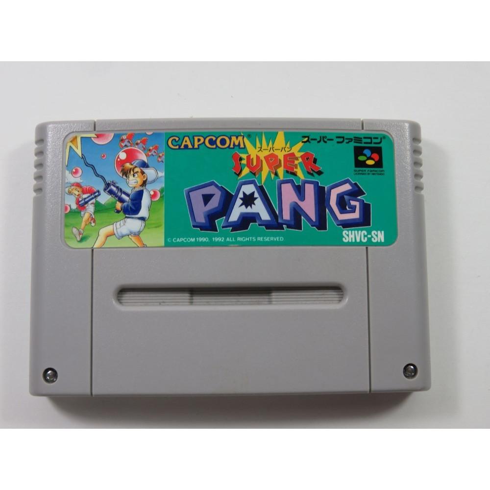 SUPER PANG SUPER FAMICOM (SFC) NTSC-JPN (CARTRIDGE ONLY - GOOD CONDITION)