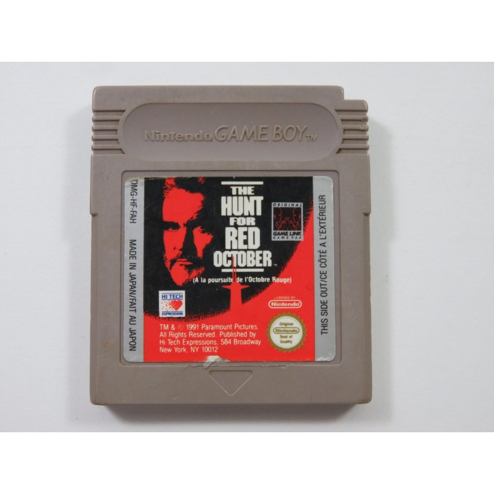 THE HUNT FOR RED OCTOBER GAMEBOY (GB) FAH (CARTRIDGE ONLY)