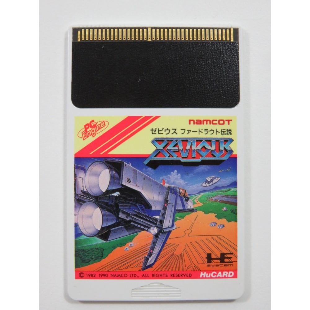 XEVIOUS NEC PCE HUCARD NTSC-JPN (CARTRIDGE ONLY)