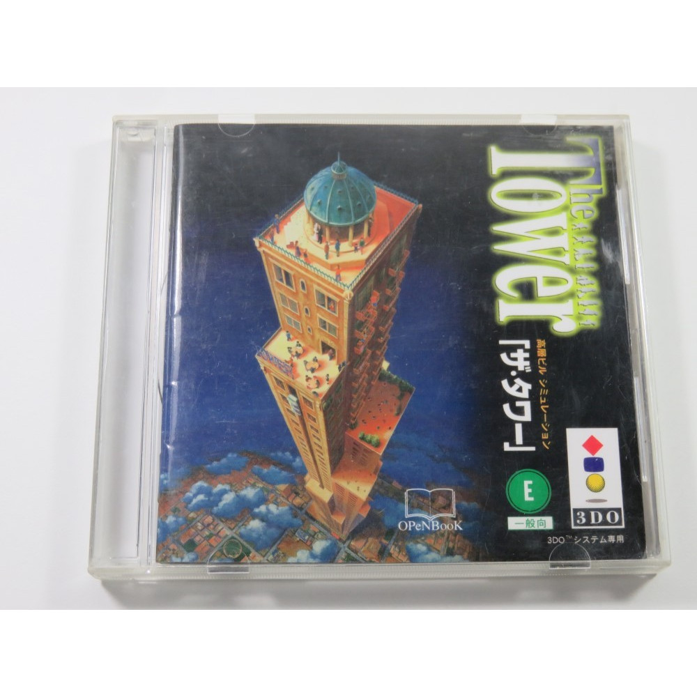 THE TOWER 3DO NTSC-JPN (COMPLETE - GOOD CONDITION)