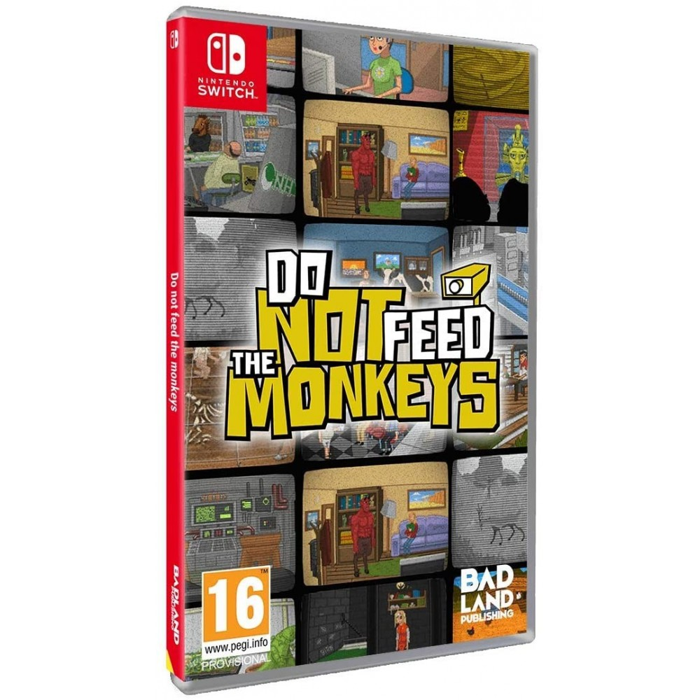 DO NOT FEED THE MONKEYS SWITCH EURO NEW