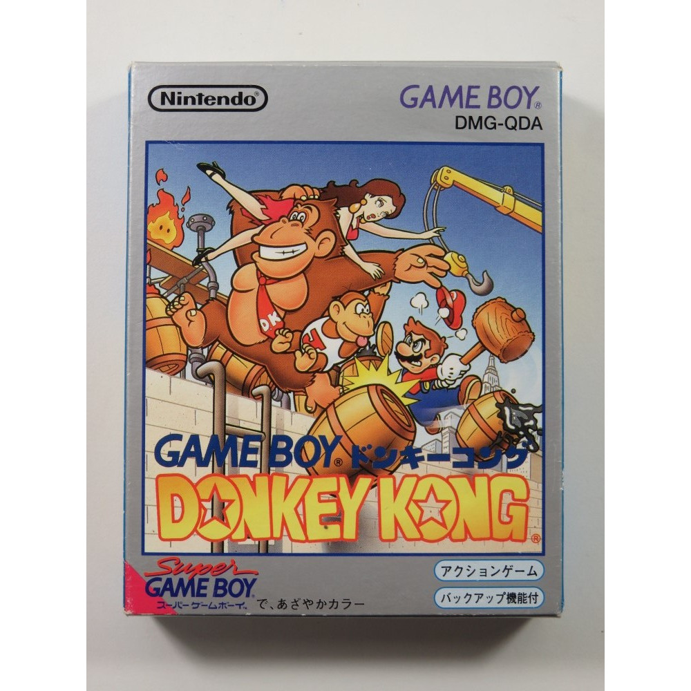 DONKEY KONG NINTENDO GAMEBOY (GB) JAPAN (COMPLETE - GOOD CONDITION)