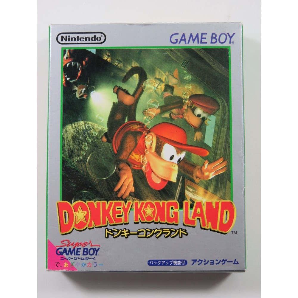 DONKEY KONG LAND NINTENDO GAMEBOY (GB) JAPAN (COMPLETE - GREAT CONDITION)