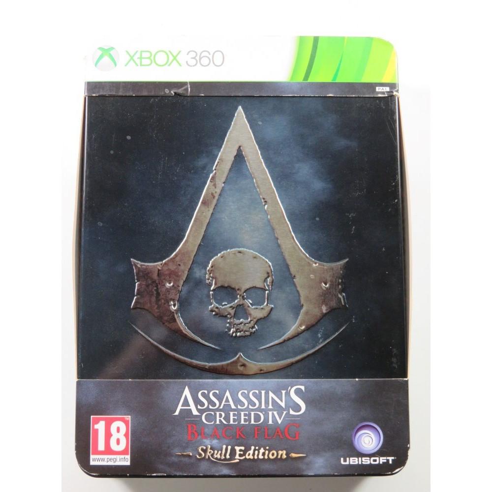 ASSASSIN S CREED IV BLACK FLAG SKULL EDITION XBOX360 PAL-FR OCCASION