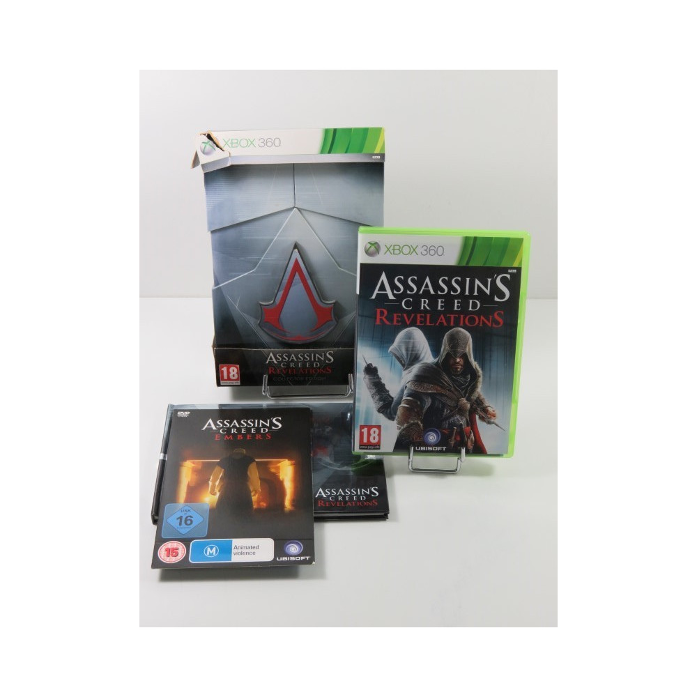 ASSASSIN S CREED REVELATIONS COLLECTOR S EDITION XBOX 360 PAL-FR OCCASION
