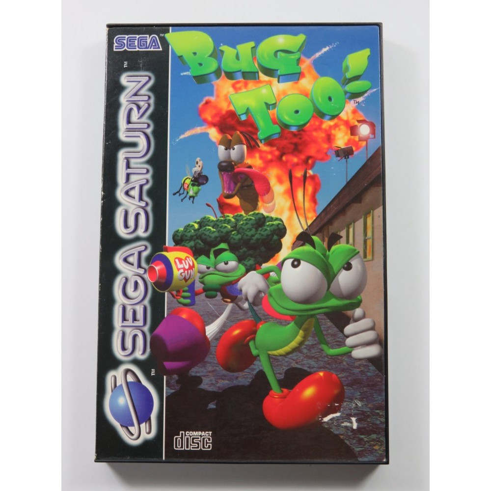 BUG TOO SEGA SATURN PAL-EURO (COMPLETE - GREAT CONDITION)