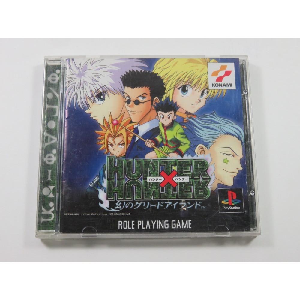 HUNTER X HUNTER MABOROSHI NO GREEN ISLAND PLAYSTATION (PS1) NTSC-JPN (COMPLETE - GOOD CONDITION OVERALL)